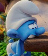 Table Eating Smurf