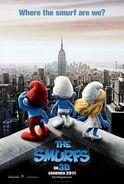 Smurfs Movie Poster 2
