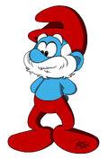Papa Smurf Profile 2