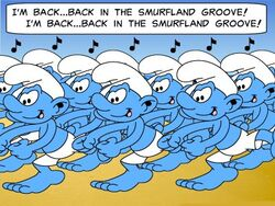 Dance Of 100 Smurfs