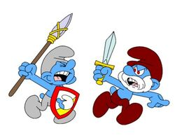 Grey Smurfs Attack