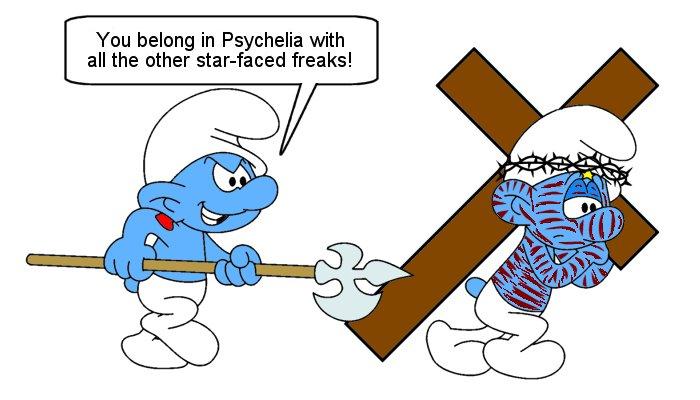 Crucifixion   Smurfs Fanon Wiki   FANDOM powered by Wikia