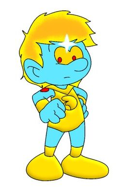 Traveler Smurf (Numbuh 404 Style)