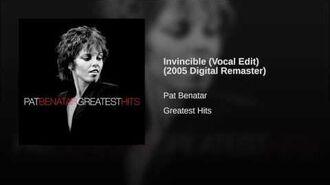 Invincible (Vocal Edit) (2005 Digital Remaster)