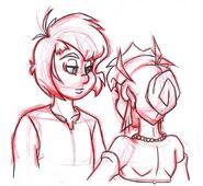 Johan and Falla's Dance 3 Sketch