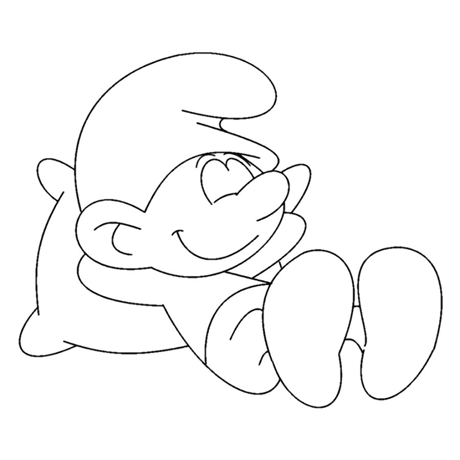 image lazy fanfiction uncolored jpg smurfs fanon wiki fandom