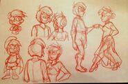 ''Falla's Birthday'' Snapshots (Red Sketch)