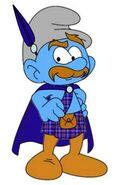 Fergus MacSmurf (Numbuh 404 Style) With Cape