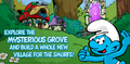 Explore the misterious grove and built a whole new village for the smurfs!.png