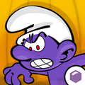 Purple Smurf Icon Smurfs Village.png
