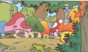Smurf-village