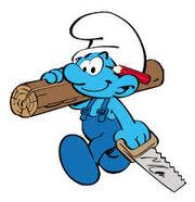 Handy Smurf -Comics-