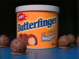Butterfinger Ice Cream Nuggets