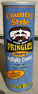 Country Style Pringles Potato Chips canister 1970's