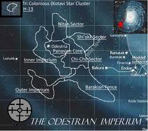 Odestrian Imperium Map Labelled