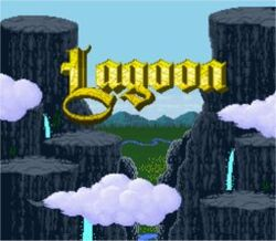 Lagoon SNES Title