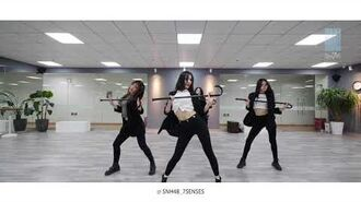 SNH48 7SENSES《Who Is Your Gril》【青春有你2】练习室版 Dance Practice Video