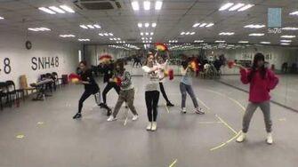 SNH48 7SENSES《Moonlight》练习室 Dance ver