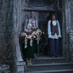 Count Olaf's troupe.