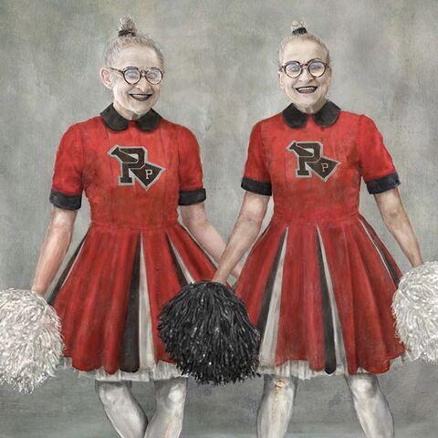 Cheerleaders at Prufrock.