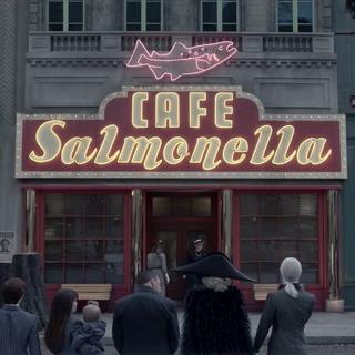 Café Salmonella.