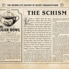 Sugar Bowl/Schism.