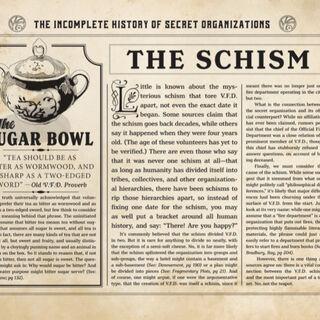 The Schism.