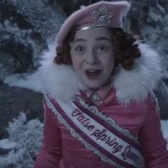 Carmelita as a Snow Scout.