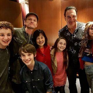 Cast members.