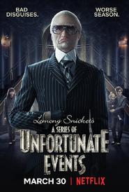 Постер второго сезона, Граф Олаф (1)