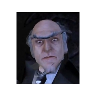 Count Olaf in the video game.