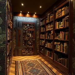 Foyer (door to Reptile Room).