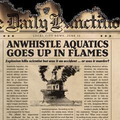 Anwhistle Aquatics Fire.