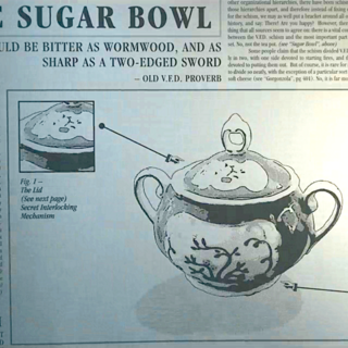 A page on the Sugar Bowl.