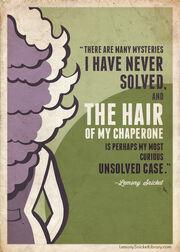 Theodora hair