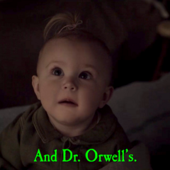 And Dr. Orwell's.