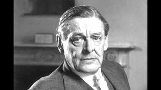 T.S. Eliot reads The Waste Land