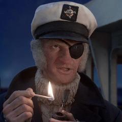 Captain Sham on his boat.