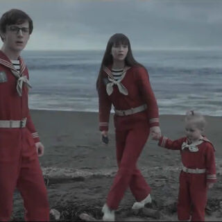 The Baudelaires on Briny Beach.