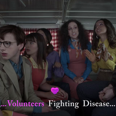 Volunteers Fighting Disease.