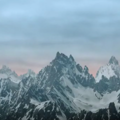 The Mortmain Mountains in the TV series