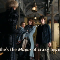 She's the <i>Mayor</i> of crazy town.