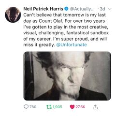 Good-bye Neil Patrick Harris