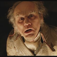 Count Olaf at the Marvelous Marriage.