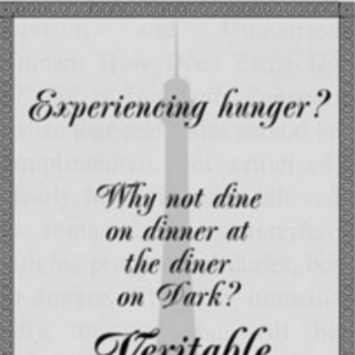Advertisement for the Veritable French Diner.