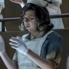 During Violet's operation.