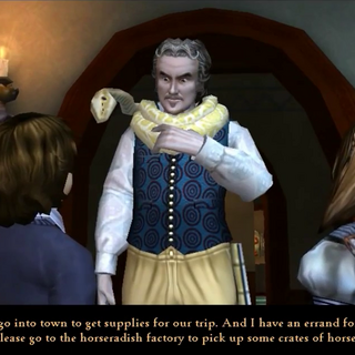 Uncle Monty in the PC version.