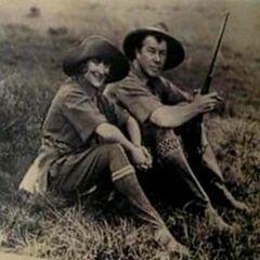 Josephine and Ike Anwhistle.