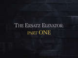 The Ersatz Elevator: Part One