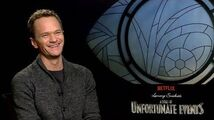 "Neil Patrick Harris Backstage with Netflix's ""A Series of Unfortunate Events"""